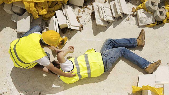Contractor injured - Work Comp